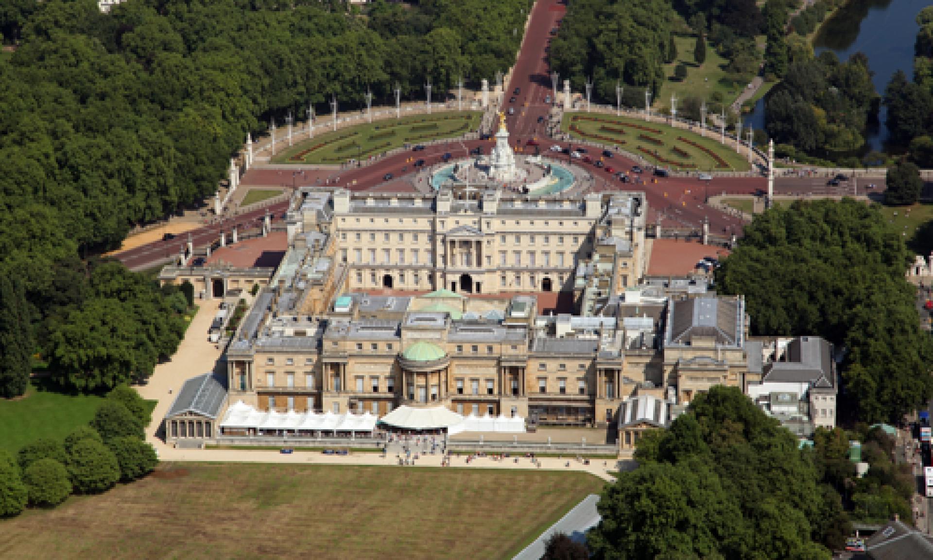 Buckingham Palace House And Garden Tour - Garden Ftempo